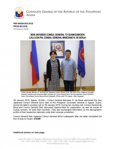 Embassy of the Philippines - News